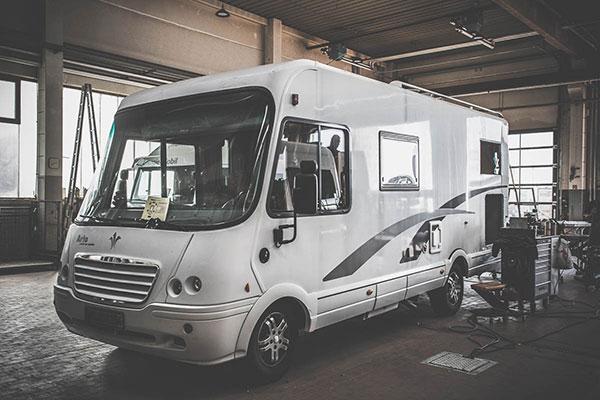 Caravan Reparatur